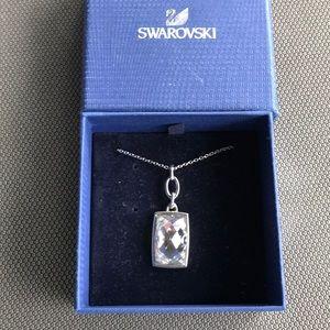 Swarovski crystal necklace.